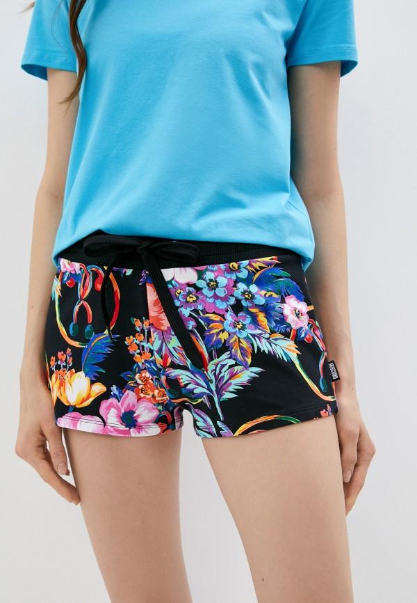 женские спортивные шорты moschino swim, разноцветные