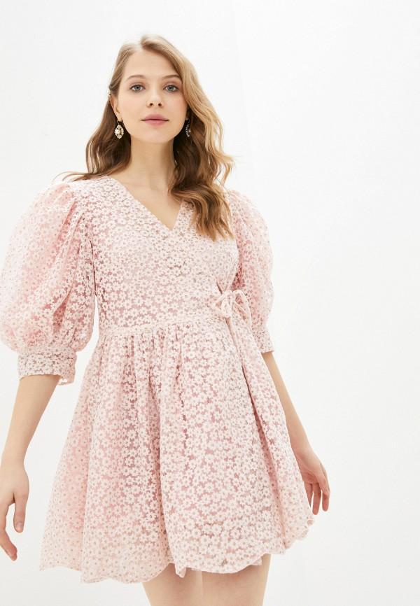 женское платье sister jane, розовое