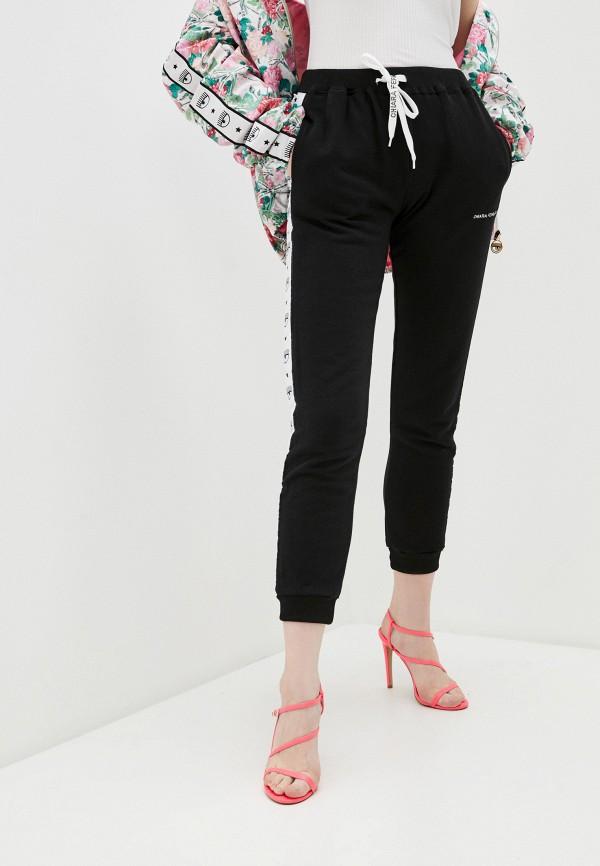 женские спортивные брюки chiara ferragni collection, черные