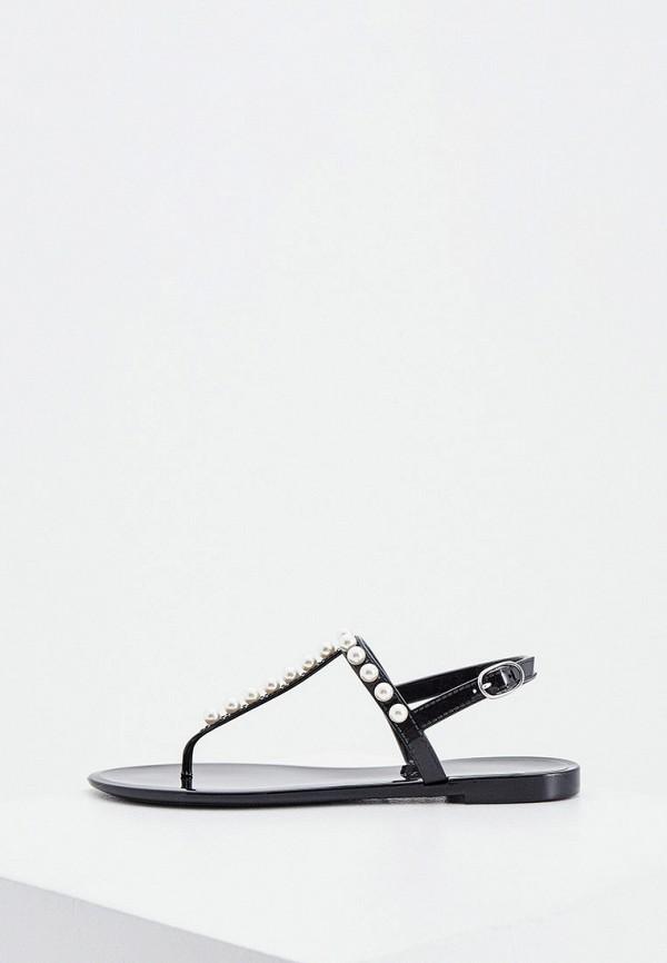 женские сандалии stuart weitzman, черные
