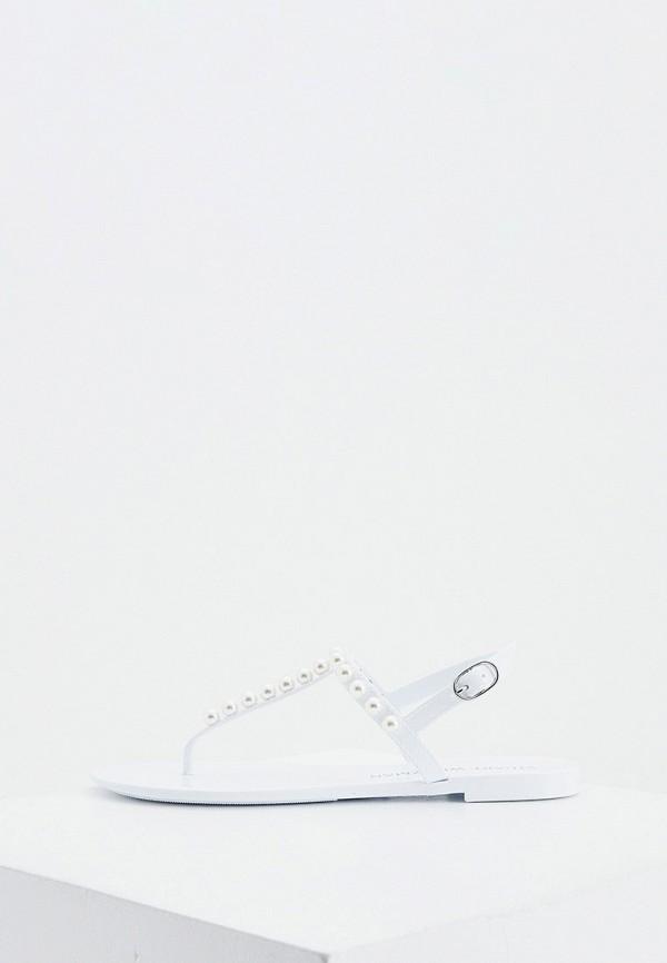 женские сандалии stuart weitzman, белые