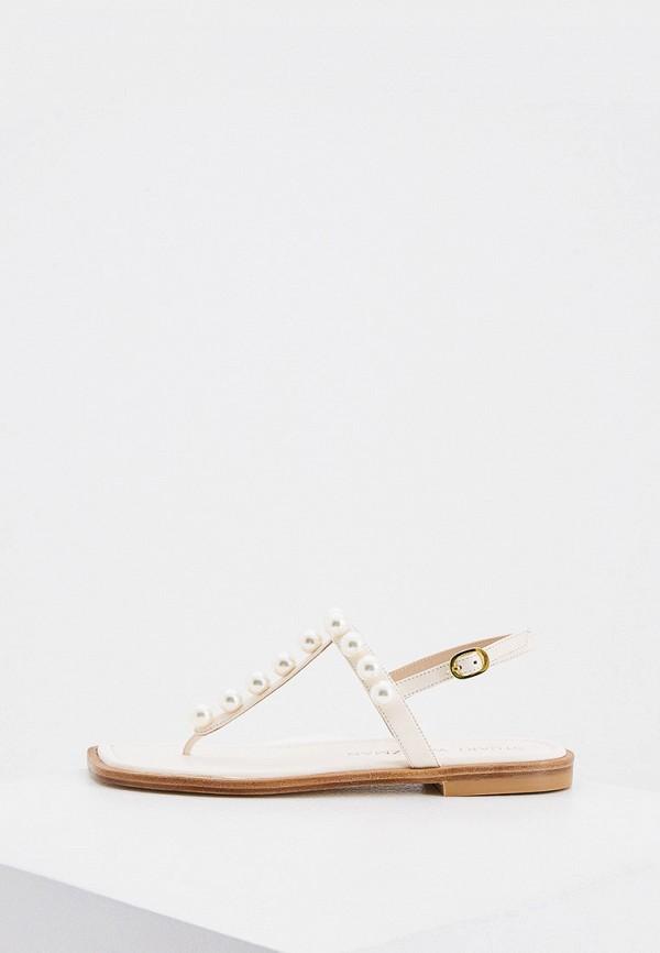 женские сандалии stuart weitzman, бежевые