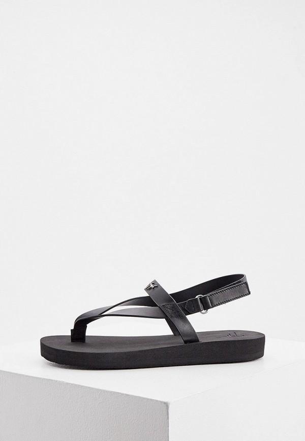 женские сандалии giuseppe zanotti, черные
