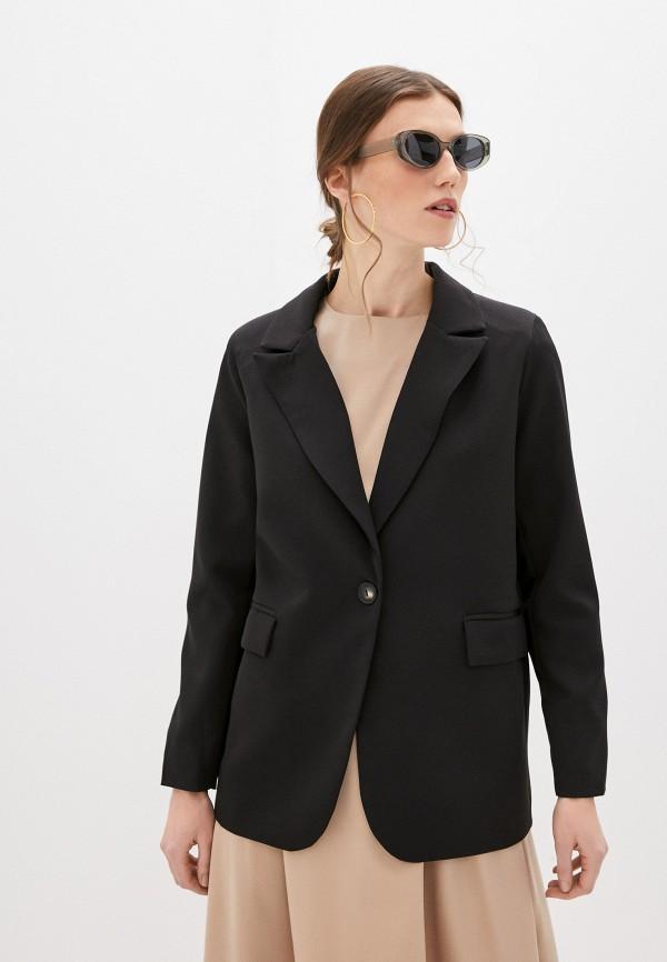 женский пиджак miss gabby, черный
