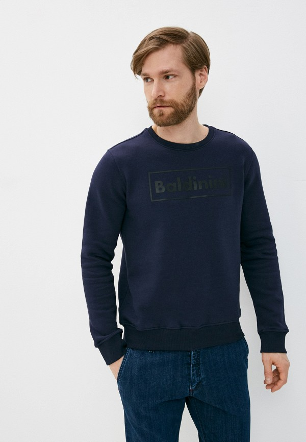 мужской свитшот baldinini, синий