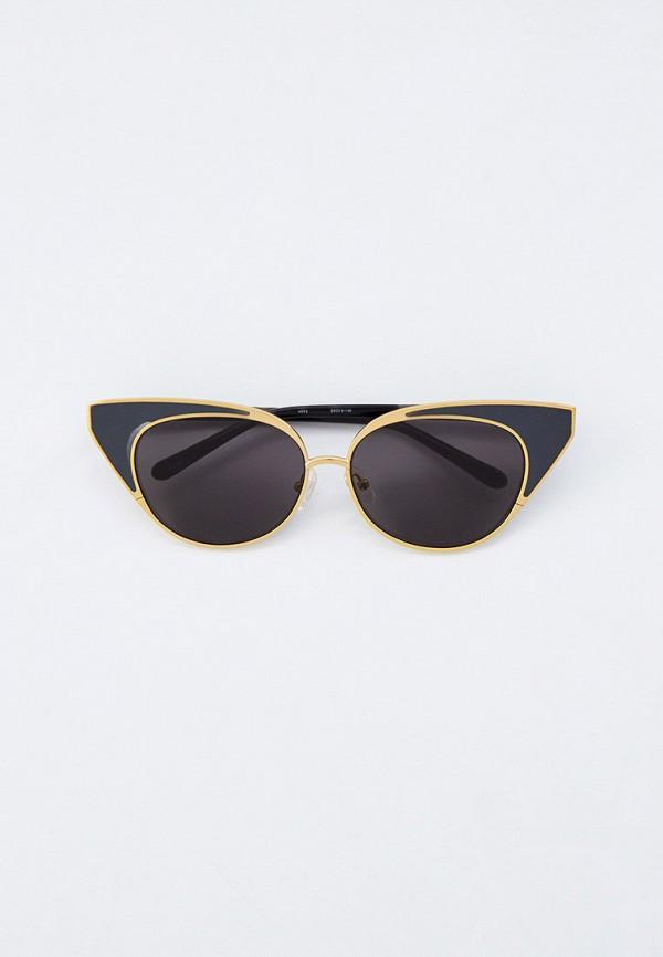женские солнцезащитные очки кошачьи глаза linda farrow, разноцветные