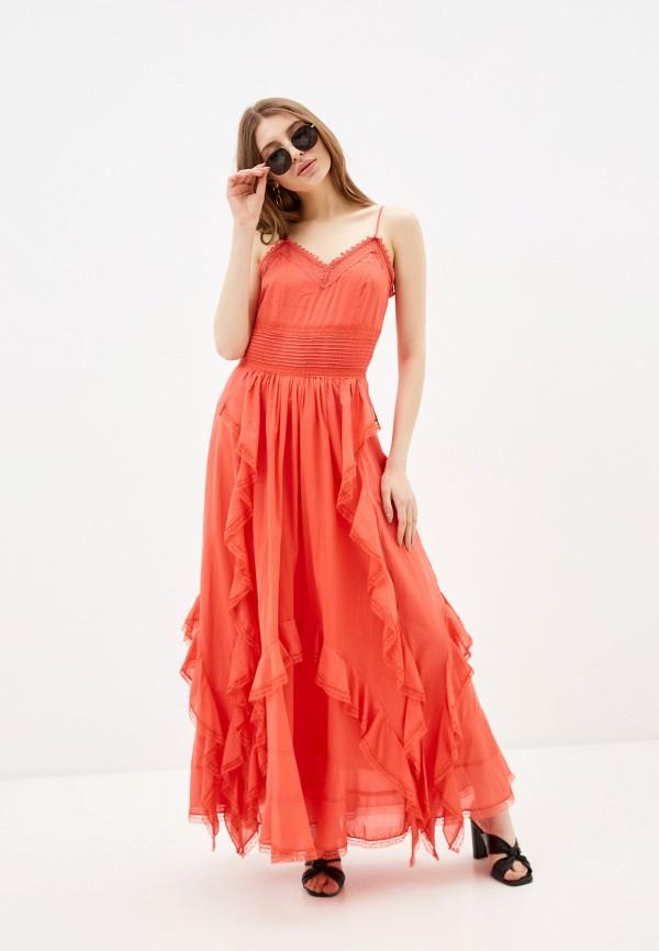 женский сарафан silvian heach, красный