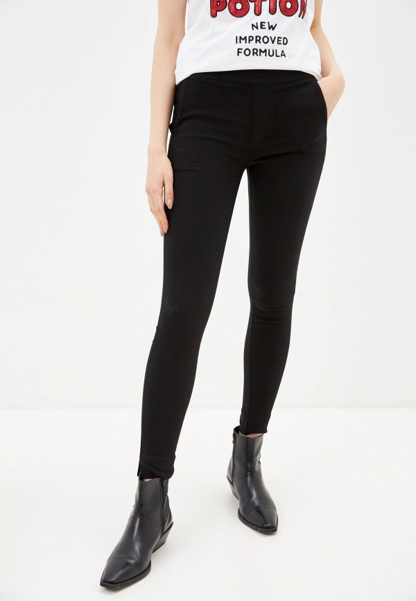 женские повседневные брюки silvian heach, черные