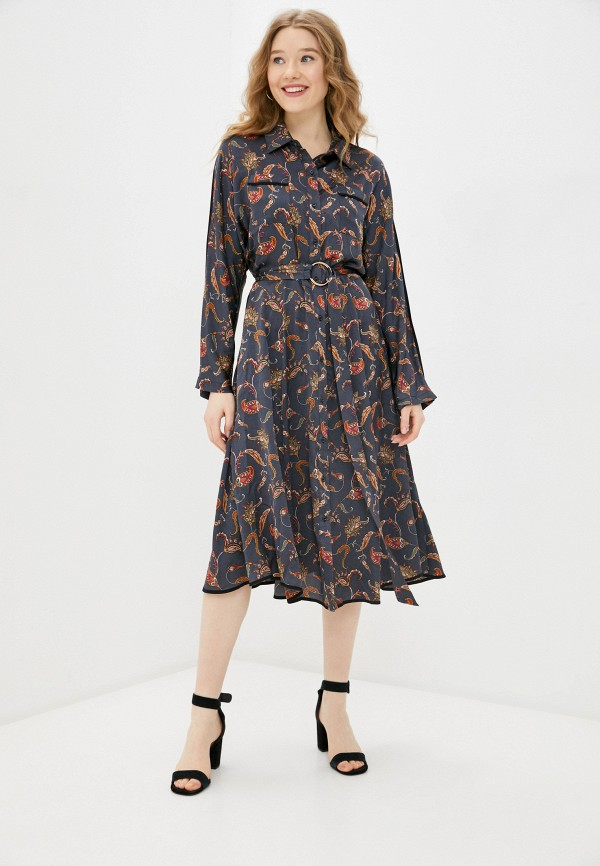 женское платье silvian heach, серое
