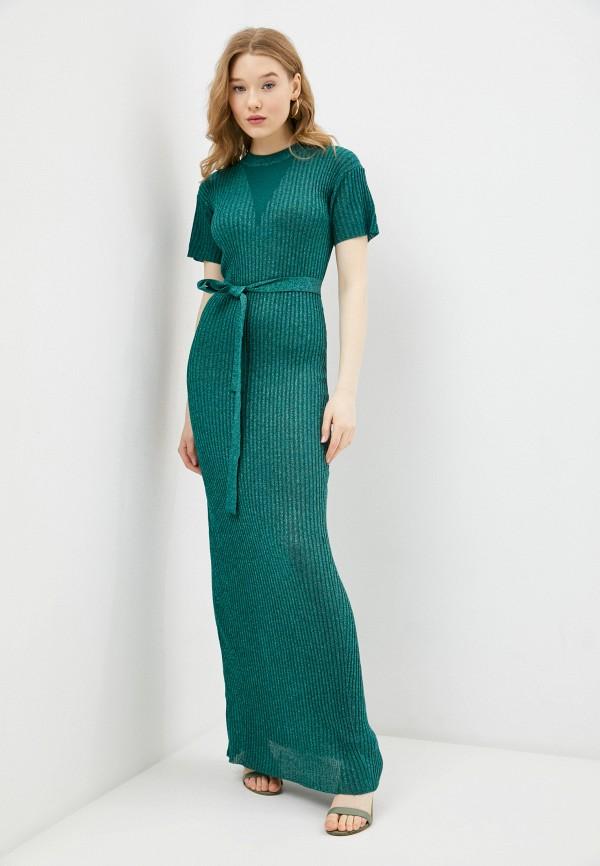 женское платье silvian heach, бирюзовое