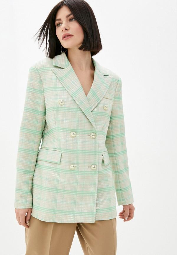женский пиджак silvian heach, разноцветный
