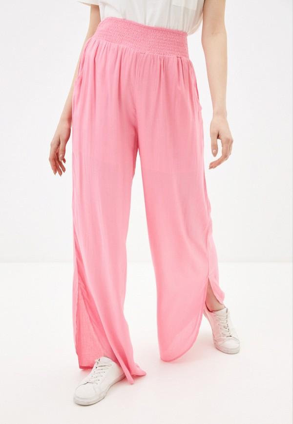 женские брюки silvian heach, розовые