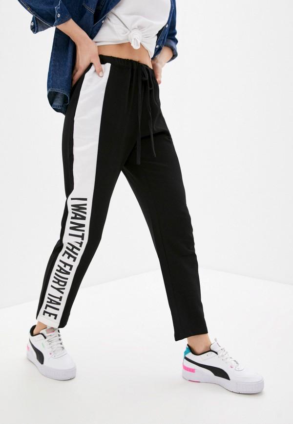женские брюки silvian heach, черные