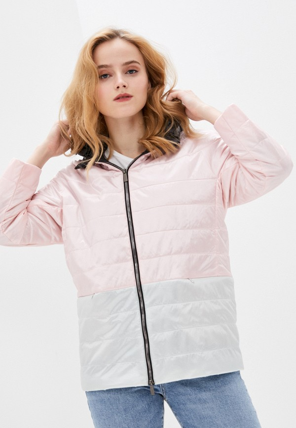 женская куртка nataliy beate, розовая