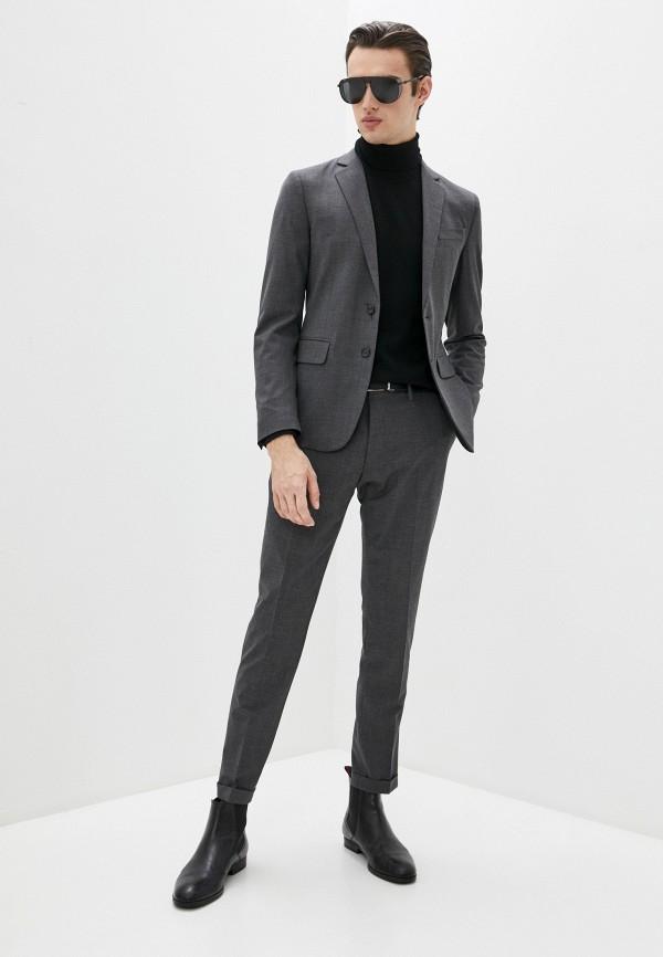 мужской классические костюм dsquared2, серый