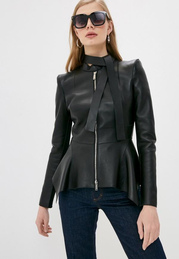 женская куртка dsquared2, черная