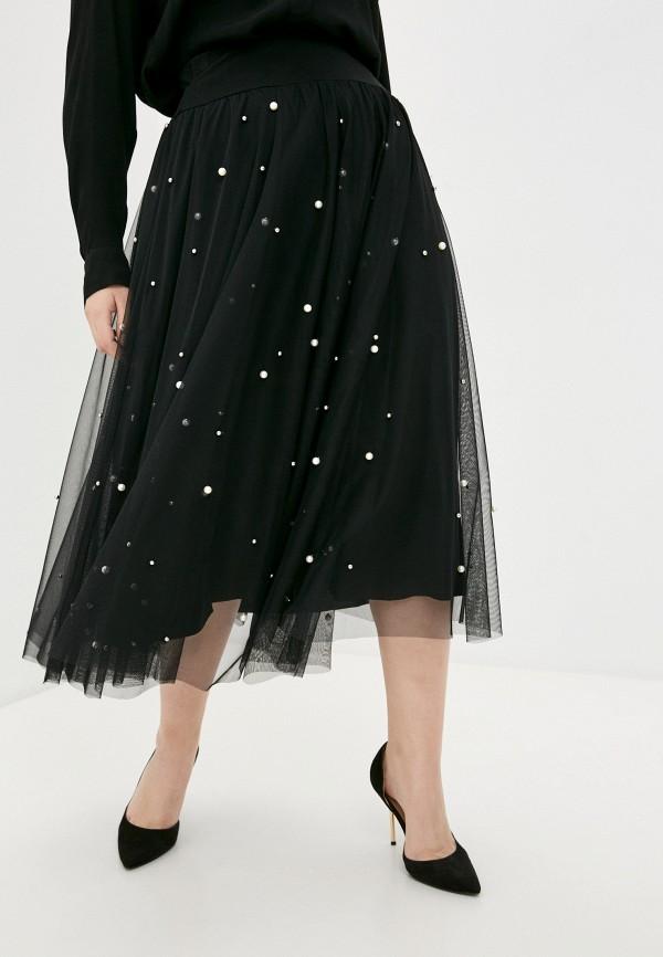 женская юбка sophia, черная