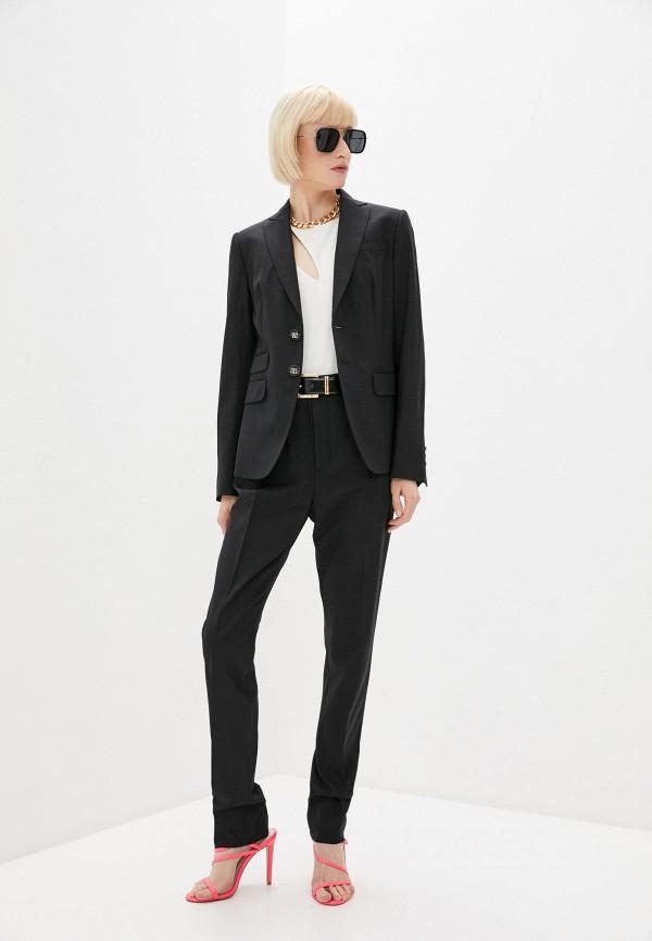 женский костюм dsquared2, черный