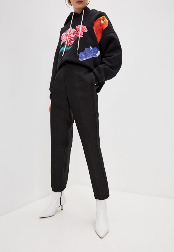 женские повседневные брюки dsquared2, черные