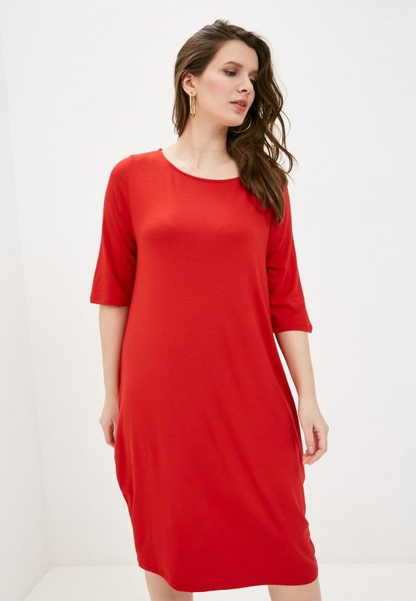 женское платье sophia, красное