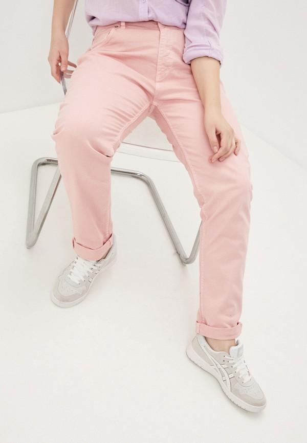 женские зауженные брюки sophia, розовые