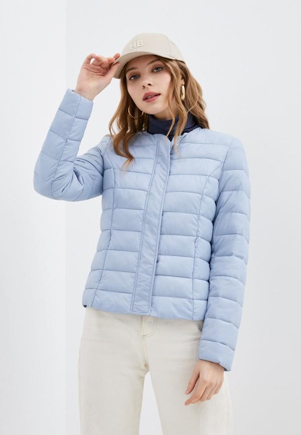 женская куртка vero moda, голубая
