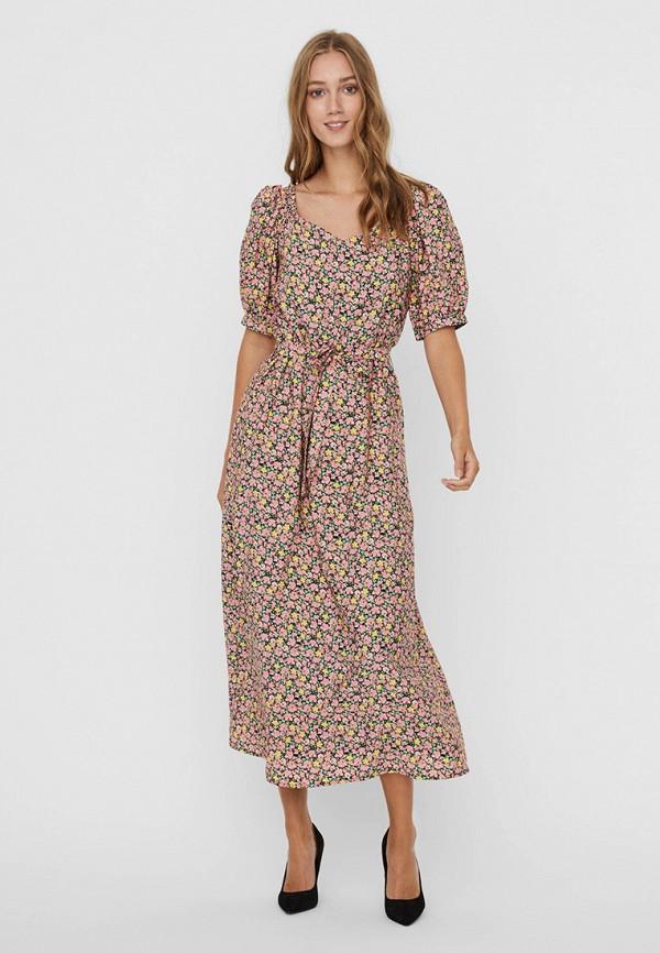 женское повседневные платье vero moda, разноцветное