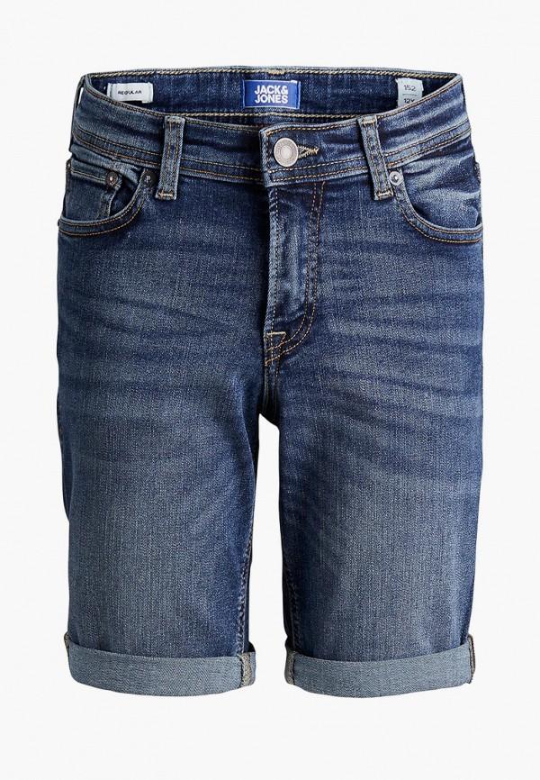 Шорты джинсовые Jack & Jones синего цвета