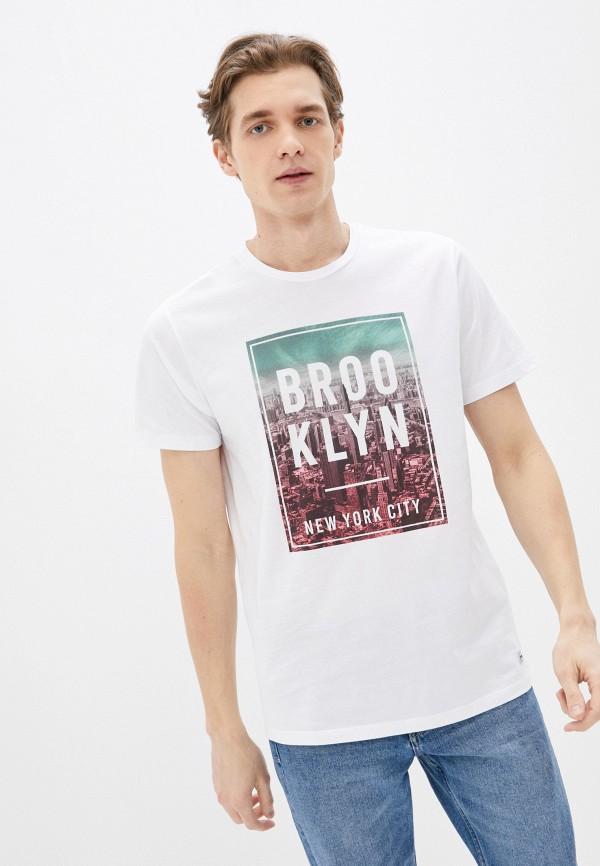мужская футболка с коротким рукавом produkt, белая