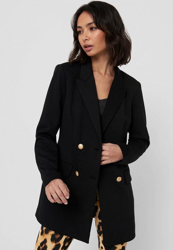 женский пиджак only, черный