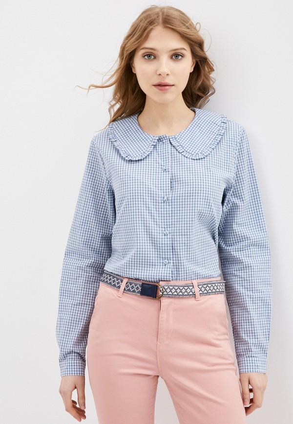 женская блузка jacqueline de yong, голубая