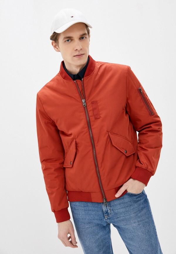 мужская куртка selected homme, красная