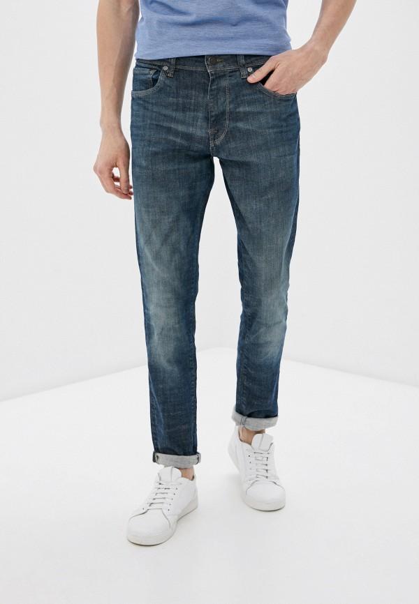 мужские джинсы selected homme, синие