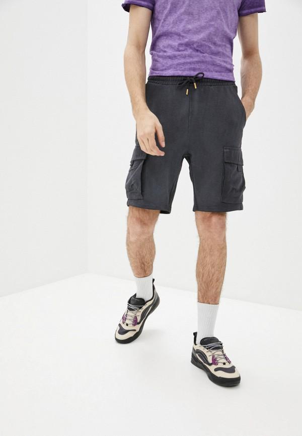 мужские спортивные шорты only & sons, серые