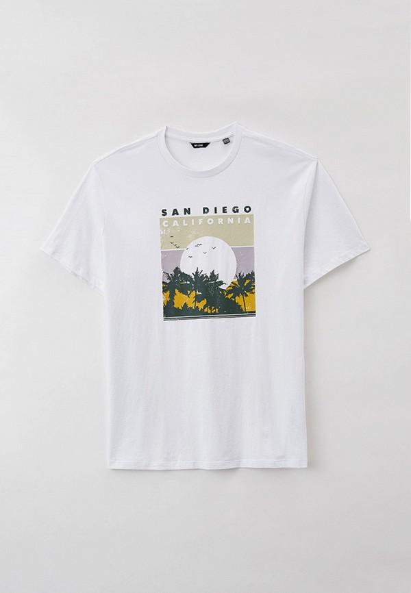 мужская футболка only & sons, белая