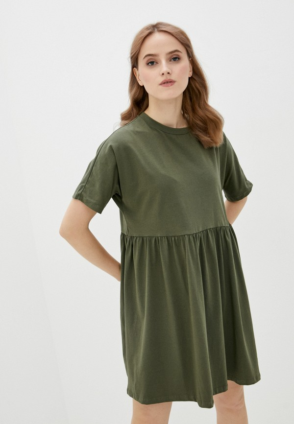 женское платье noisy may, хаки