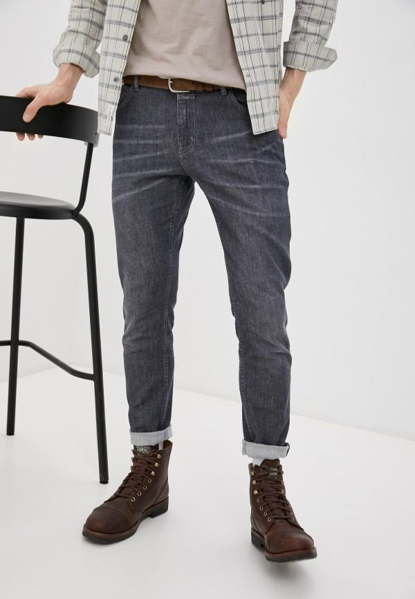 мужские зауженные джинсы closed, серые