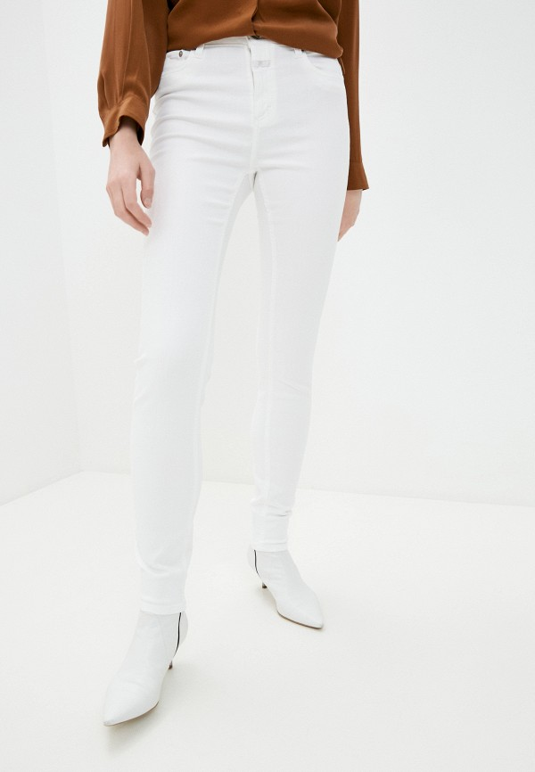 женские джинсы closed, белые