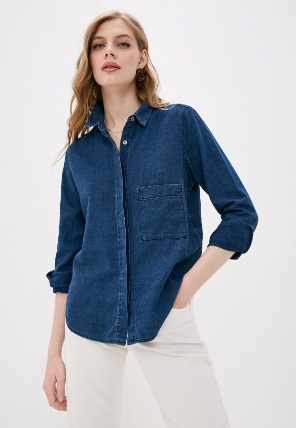 женская джинсовые рубашка closed, синяя