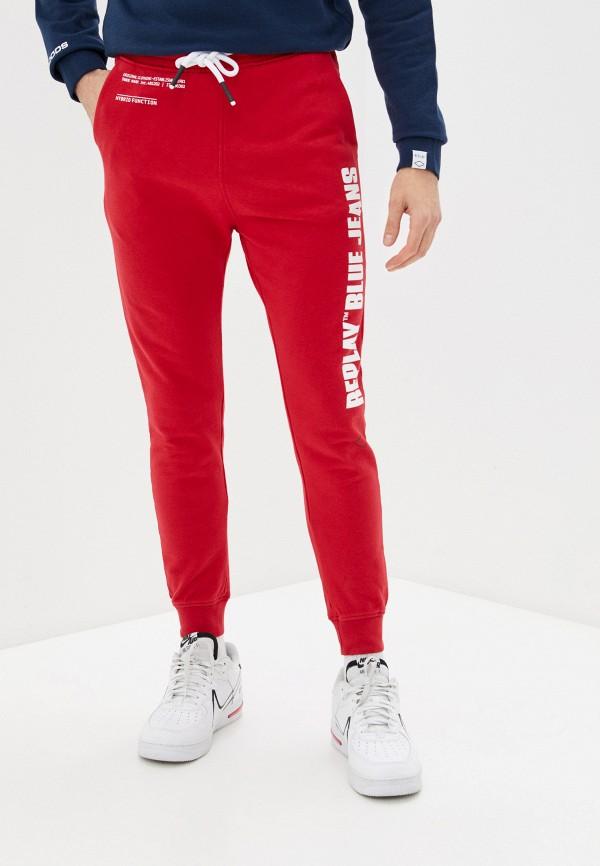 мужские спортивные брюки replay, красные