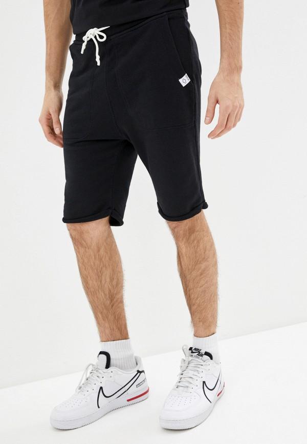 мужские спортивные шорты replay, черные