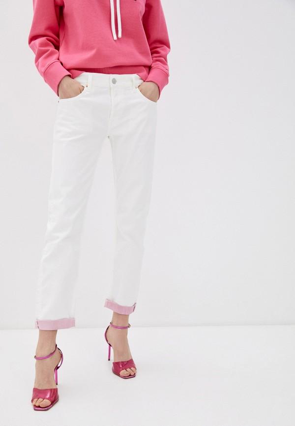 женские джинсы скинни replay, белые