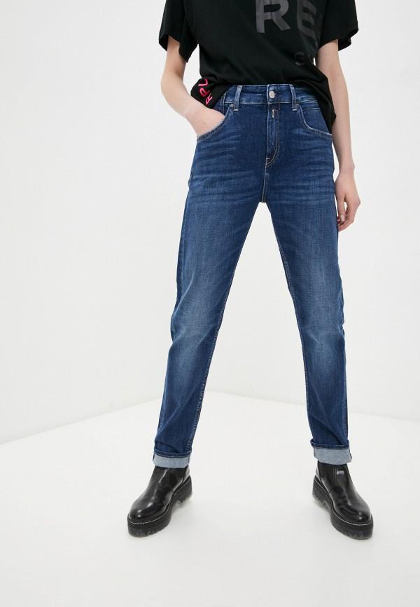 женские джинсы скинни replay, синие