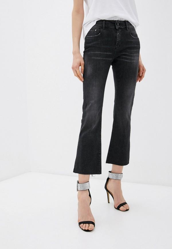 женские прямые джинсы replay, черные