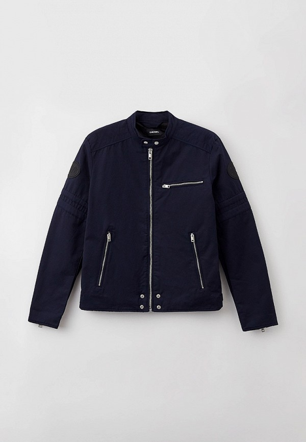 мужская легкие куртка diesel, синяя