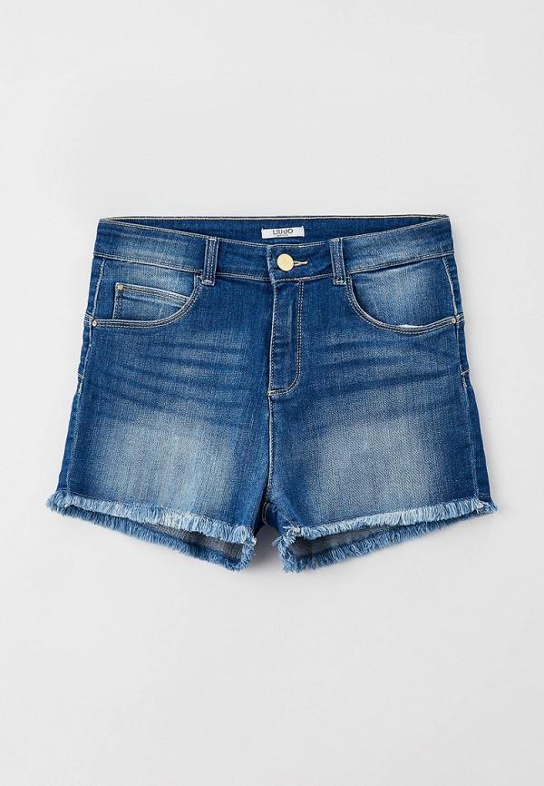 шорты liu jo junior для девочки, синие