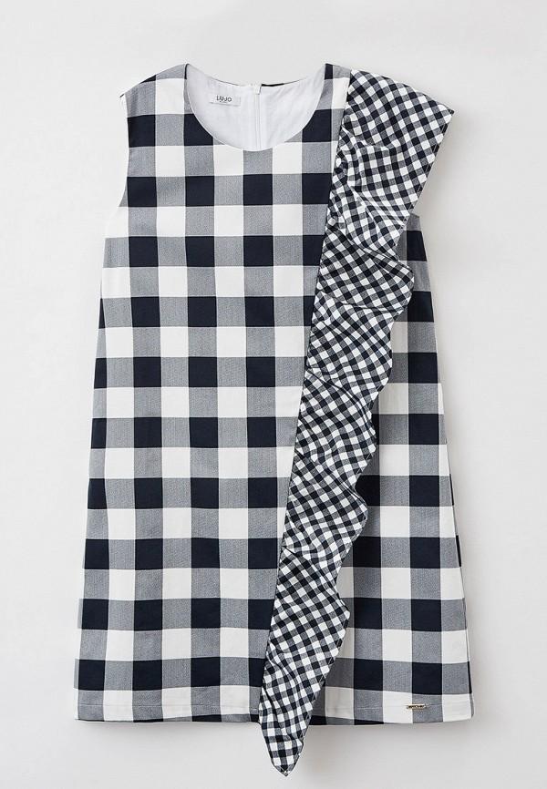 повседневные платье liu jo junior для девочки, черное