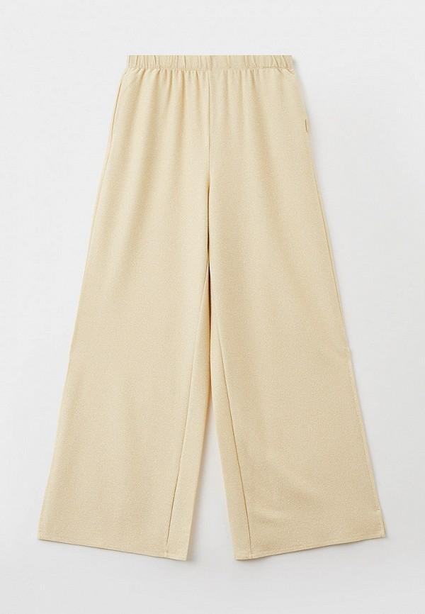 брюки liu jo junior для девочки, золотые