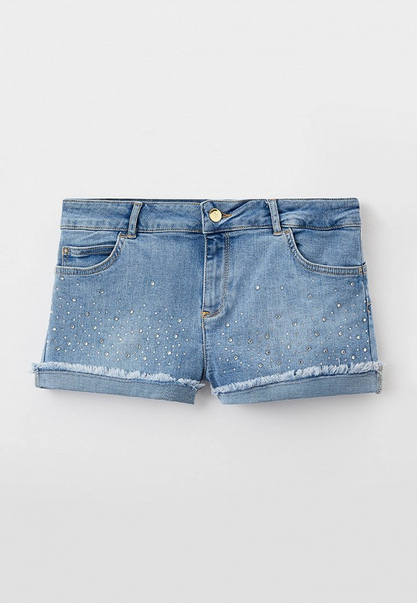 шорты liu jo junior для девочки, голубые