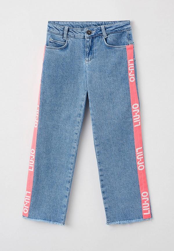 джинсы liu jo junior для девочки, голубые